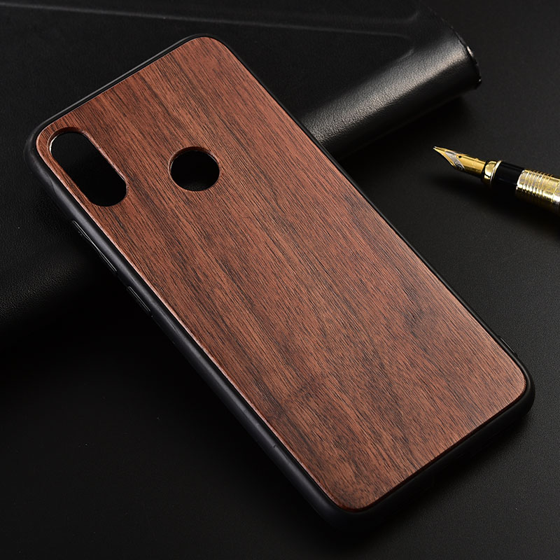 Case for <font><b>Xiaomi</b></font> <font><b>Redmi</b></font> Note <font><b>7</b></font> Pro Slim Wood <font><b>Back</b></font> <font><b>Cover</b></font> TPU Bumper Case for <font><b>Redmi</b></font> Note7 Phone Cases image