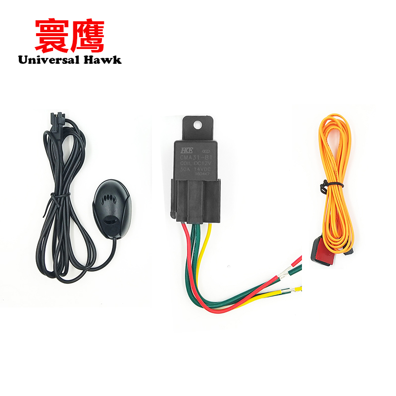 CJ790 2G 3G 4G GPS Tracker Multi-function SOS Cut Off Oil Relay Listening Microphone Accessories Fitting