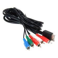 Cable AV HDTV de 1,8 m/6 pies, Cable de Audio y Video AV A/V, Cable de componente, adaptador delgado de juego para Sony PlayStation 2 3 PS2 PS3