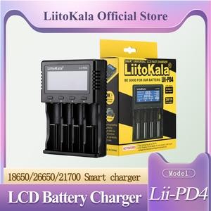 Image 3 - NEW LiitoKala lii PL4 lii PD4 1.2V 3.7V 3.2V 3.85V A/AAA 18650 18350 26650 10440 14500 16340 NiMH battery smart charger