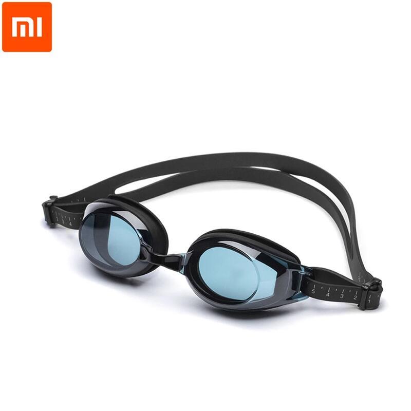 Xiaomi mijia TS плавательные очки для плавания стекло HD анти-туман 3 сменные нос пень с силиконовой прокладки mi home