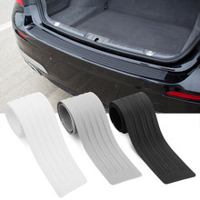 Embellecedor de parachoques trasero para coche, placa protectora, pegatina para Subaru, Forester, peugeot 2008, 3008, 4008, LADA XRAY, Alfa Romeo, Stelvio