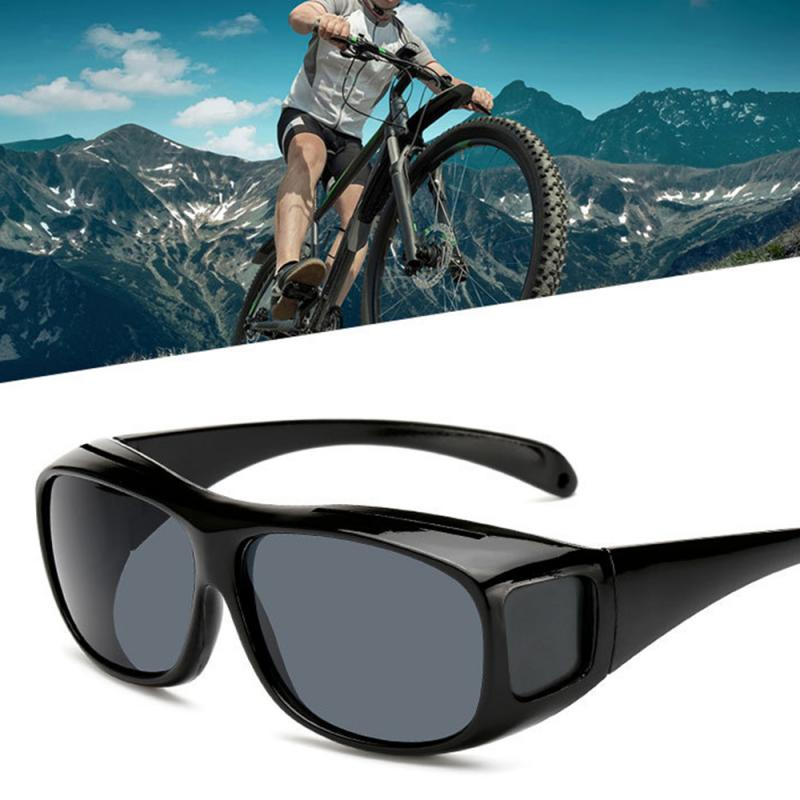 Unisex Eyewear UV Protection Sunglasses Car Driving Glasses HD Vision Sun Glasses Night Vision Goggles