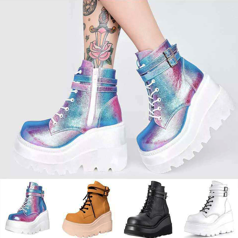 Boots for Women Rubber Platform
