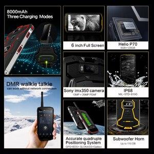 Image 2 - CONQUEST 8000 мАч S12 Pro IP68 водонепроницаемый прочный смартфон мобильный телефон 6,0 дюймов Android 9,0 helio P70 Восьмиядерный прочный смартфон