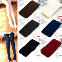 Sexy Womens Lady Girls Fashion Soft Tights Solid Black White Navy Blue Winter Autumn