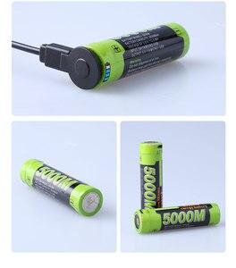 Image 4 - Laptop battery 5000M USB 18650 3.7V 3500mAh Li ion Rechargeable Battery 4 LED Indicator Power bank battery Mobile charging batte