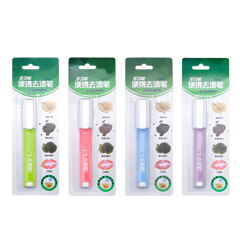 Portable Decontamination Pen Dust Cleaner Oil Stain Cleaning Pen Brush Rub Wipe Fabric Cloth Stain Remover Pen Hogard