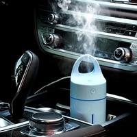 Humidificador de coche a través del cargador USB Magic Cup Auto coche difusor de aroma purificador de aire MINI humidificador de aromaterapia para coche/hogar|Humidificadores| |  -