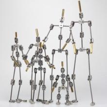 لتقوم بها بنفسك غير جاهزة الصنع الرسوم المتحركة استوديو حديد التسليح عدة لوقف الحركة دمية من هيكل عظمي جسم الإنسان