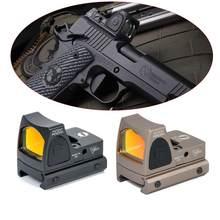 Tactical Ajustável Mos RMR Red Dot Sight 3.25 MOA Âmbito Caça Scopes Glock Caber KSC Glock KWA com 1913 Monte