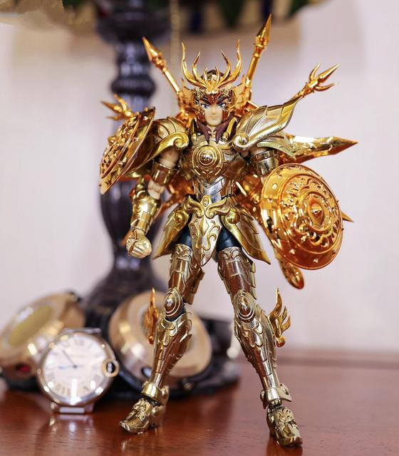 CS Modell Saint Seiya Tuch Mythos Seele von Gott SOG EX Gold Waage Dohko metall Tuch SC014
