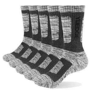 Image 4 - YUEDGE 5 pairs mens brand cotton breathable comfortable casual business warm thick socks mens crew socks dress socks