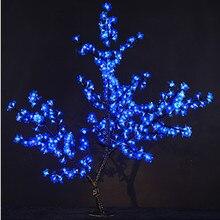 цены Holiday light LED Cherry Blossom Tree Light 0.8m New Year Wedding Decorative Tree Branches Lamp Outdoor/Indoor Lighting