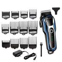 Cortadora de pelo sin cable recortadora profesional para hombre, cortador de pelo para niños, máquina de corte de pelo eléctrica, Salón ajustable