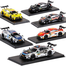 1/43 Scale M4 DTM Racing Car Kids Gifts Diecast Car Model High Simulation Painting Toy Vehicles Alloy Car Model For Original Box 1 43 diecast model for mitsubishi eclipse spyder blue alloy toy car miniature collection gifts