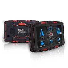 Navegador GPS para motocicleta, dispositivo con pantalla de 5 pulgadas, Android 6, Bluetooth 4,0, intercomunicador, WIFI, Ram 1GB Rom 16GB, Motor impermeable, Karadar MT-5002