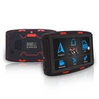 5 ''IPS écran tactile véhicule voiture GPS accessoires Moto camion GPS système de Navigation Portable 16GB FM émetteur GPS navigateur