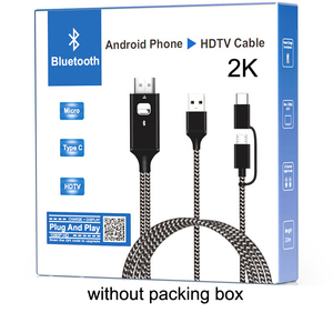 Image 5 - 2K Bluetooth Audio Type C Micro USB HDMI Cable HDTV Adapter For Huawei Mate 20 P9 Samsung S10 S9 S8 Note 8 9 Android Phone to TV
