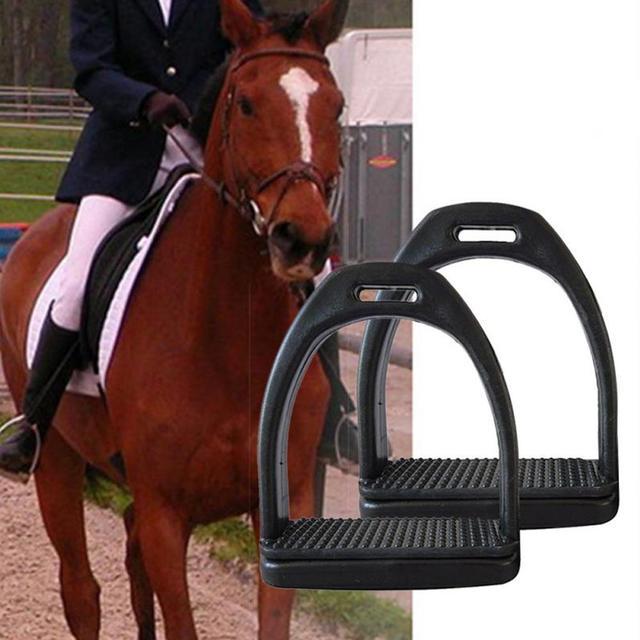 2PCS Children - Adults Durable Horse Riding Stirrups - 2 Sizes - Lightweight Wide Track Anti Slip  2