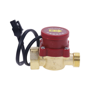 Image 2 - 1pc Practical Male Thread Connector Circulation Pump Automatic Water Flow Sensor Switch 220V 120W