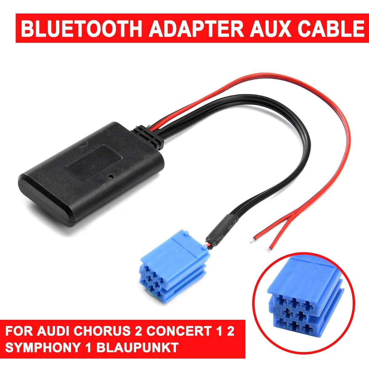 Для AUDI Chorus 2 Concert 1 2 Symphony 1 для Blaupunkt радио bluetooth AUX адаптер кабель CD приемники aux кабель