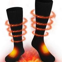 Thermal Cotton Heated Socks Winter Foot Care Socks Foot Warmer Electric Warming Sock Battery Powered Men Women High Quality
