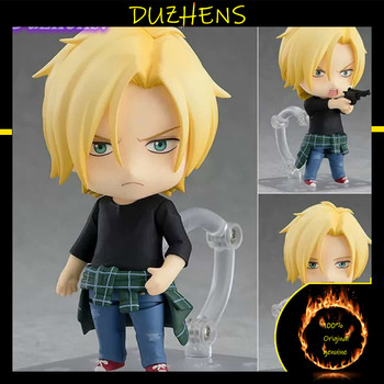 100% Original genuine BANANA FISH Ash Lynx Callenreese Q version figma PVC Action Figure Anime Figure Model Toys Doll Gift 1