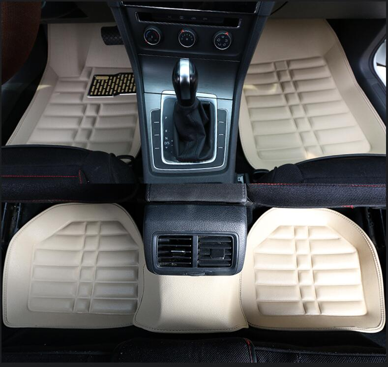 Car-Floor-Mats Duster Foot-Covers Interior-Accessories Universal for Dacia Sandero Logan title=