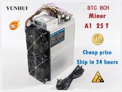 BTC BCH כורה ליבת אהבת A1 כורה Aixin A1 25T עם PSU כלכלי מ Antminer S9 S11 S15 S17 t9 + T15 T17 WhatsMiner M3X