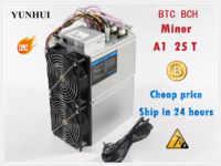 BTC BCH minero amor Core A1 minero Aixin A1 25T con PSU económico que Antminer S9 S11 S15 S17 T9 + T15 T17 WhatsMiner M3X