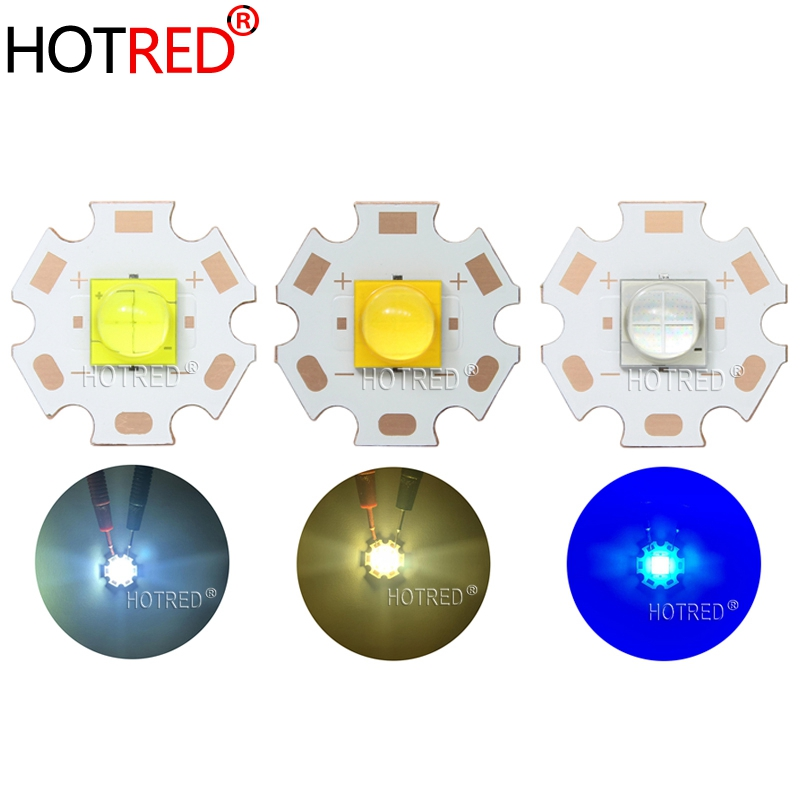 20W 7070 LED 3V 6A Replace XHP70.2 XHP50.2 Diode Emitter Cool Warm White Blue For Flashlight Lamp Bike Head Motorcycle Light
