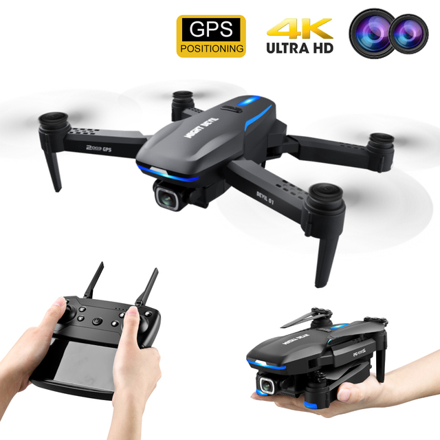 2021 New GPS Drone X8GW for Adults Professional RC Drones with 4K HD Camera 5G WI-FI Transmisison Remote Control Quadcopter 1