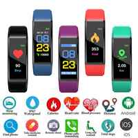 PK M3 M4 Smart Armband Band Armband Bluetooth Uhr Herz Rate Fitness Schlaf Monitor Wasserdicht Armband Uhr Männer Frauen