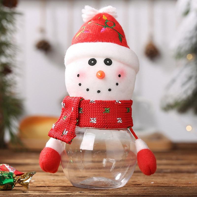 Home Furniture Diy 1pc Christmas Xmas Candy Box Jar Christmas Sweet Gift For Kids Home Decor Sale Schutzmann Com Br