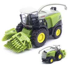 цены Children's Agricultural Harvester Alloy Car Model Toy Alloy Children Hobbies Toys Farm Tractor Model Vehicles Toy Gift