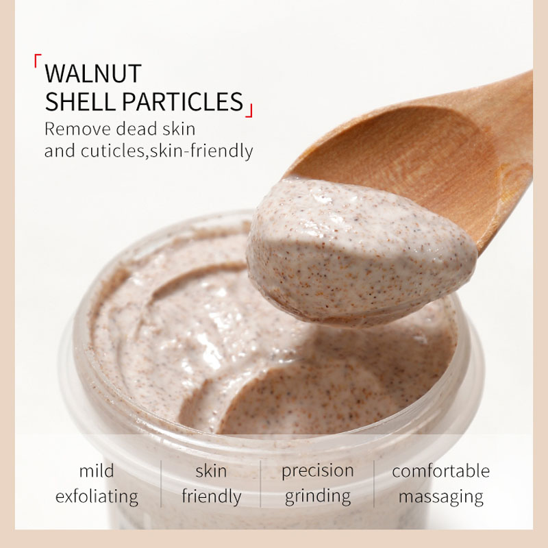Avocado Scrub Body Scrub Cream Body Deep Cleaning Exfoliating Whitening Moisturizing Anti Cellulite Pores Acne Treatment Smooth