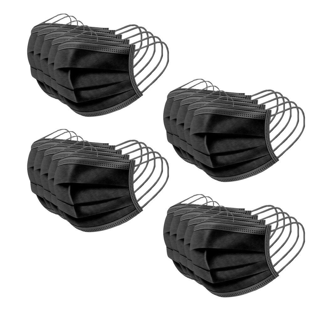 20PCS Disposable Dustproof Face Maske Activated Carbon Respirator Dust Collector PM2.5 Soft Mouth Maske Reusable Mouth Maske