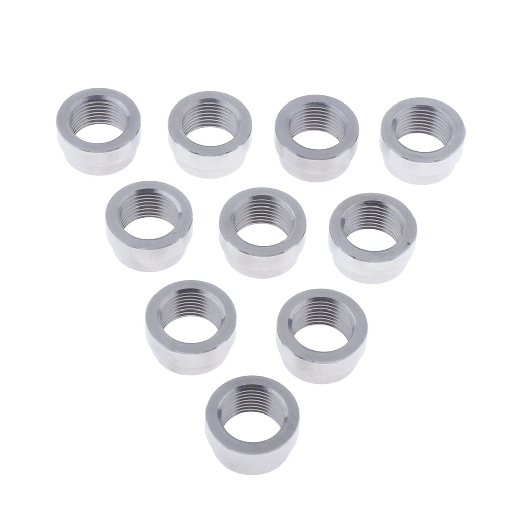 Nut Connection For 25 Mm Cap For O2 Sensor For  M18x1.5 (pack Of 10)|Assembly Parts| |  - title=