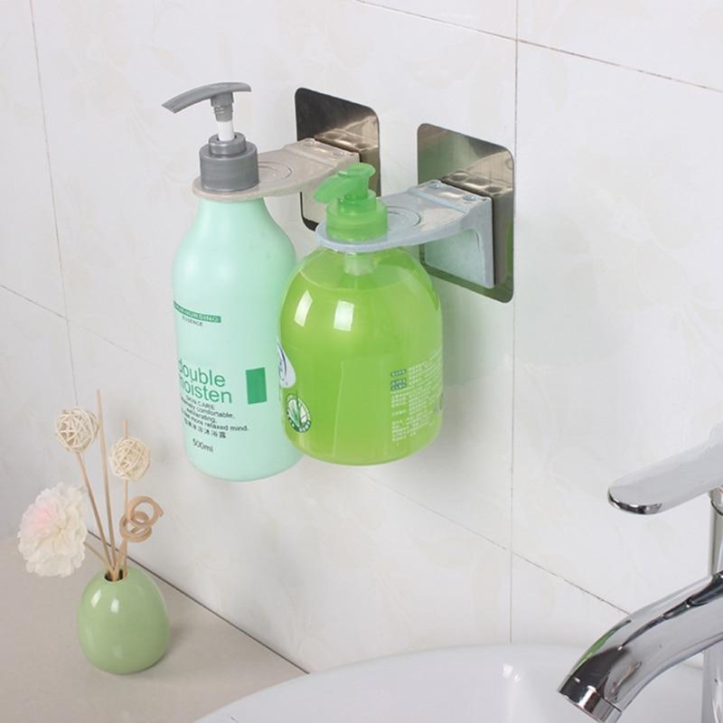 Shower Gel Bottle Holder Strong Shampoo Hook Portable Shampoo Hook Bathroom Hardware