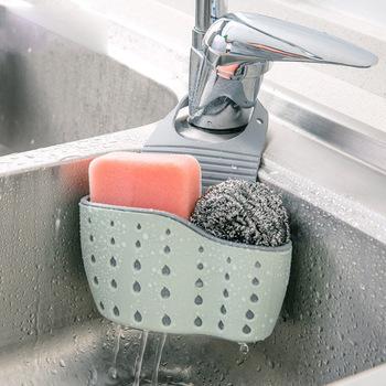 ITAS7705 przybory kuchenne umywalka umywalka plastikowy pojemnik do przevhowywania torba regulowany wiszący kosz kosz spustowy tanie i dobre opinie Bez kran Pojedyncze bowl plastic Jeden Sink storage bag