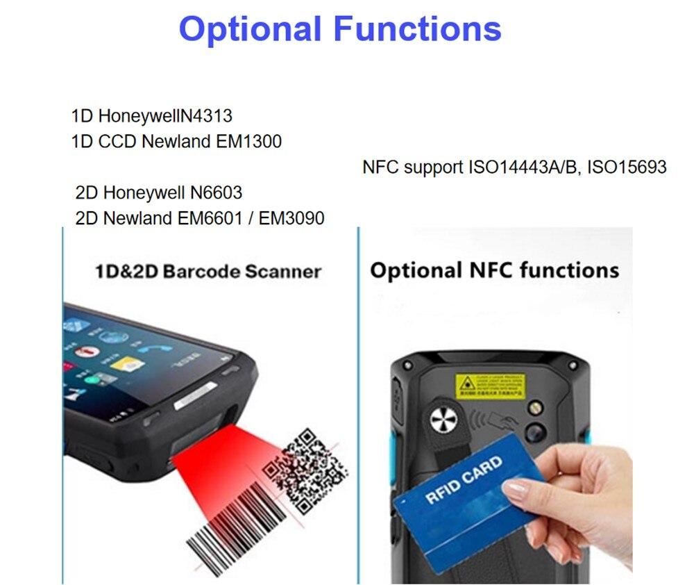 8.1 terminal coletor dados handheld ip66 telefone