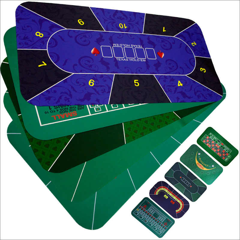 1 8m Game Table Mat Rubber Table Top Cloth Casino Poker Board Game Texas Hold Em Sic Bo Blackjack Roulette Gambling Gaming Pad Playing Cards Aliexpress