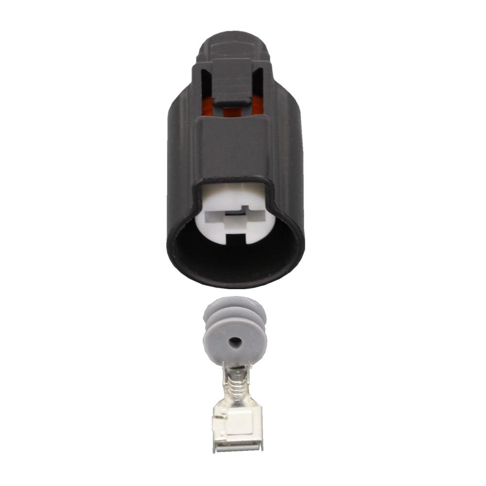 Conjuntos 10 1 Pin peças de plástico do automóvel conector conector do terminal DJ7015-7.8-21 1 P