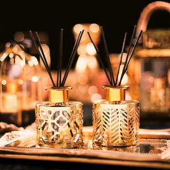 Luxury Gold Plant Incense Aroma Diffuser  1