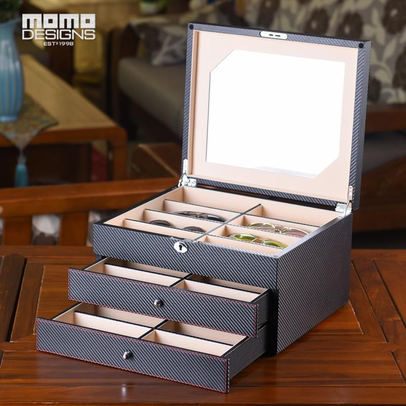 Luxus szemüveg doboz 24 Napszemüveg tároló doboz szemüveg - Ruházati kiegészítők