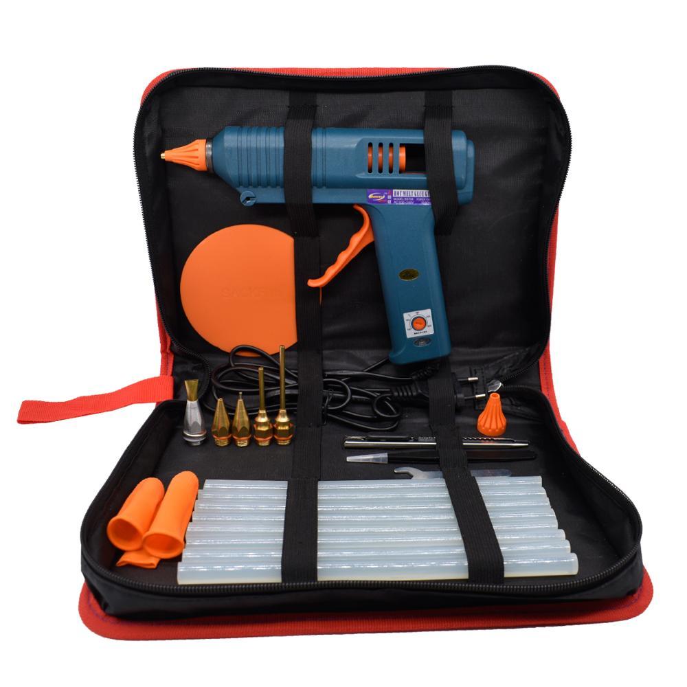 דבק חם אקדח כלי ערכת טמפרטורת התאמת 150W לאמנות תיקון כלי מקצועי DIY להשתמש 11mm דבק מקלות טהור נחושת זרבובית