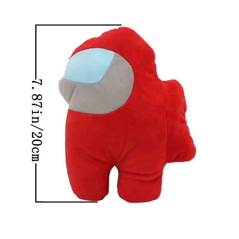Among Us Plush Soft Stuffed Toy Doll Game Figure Plushie Kids Cute Gift 20CM USA