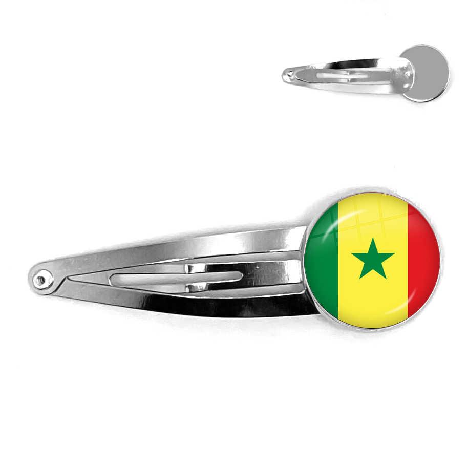 ギリシャ、ヨルダン、イタリア、ナイジェリア、ドイツ、イラン、チェコ共和国、リトアニア 20 ミリメートルガラスカボション国旗の毛ピンの宝石