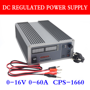 Image 1 - CPS 1660 PFC Compact Digital Adjustable DC Power Supply OVP/OCP/OTP Switching Laboratory Power Supply 0 16V 0 60A